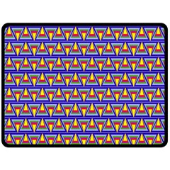 Seamless Prismatic Pythagorean Pattern Fleece Blanket (large)