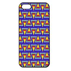 Seamless Prismatic Pythagorean Pattern Apple Iphone 5 Seamless Case (black)