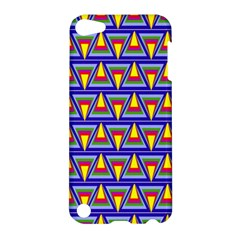 Seamless Prismatic Pythagorean Pattern Apple Ipod Touch 5 Hardshell Case