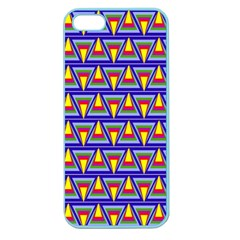 Seamless Prismatic Pythagorean Pattern Apple Seamless Iphone 5 Case (color)
