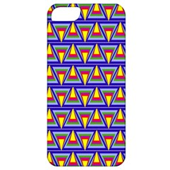 Seamless Prismatic Pythagorean Pattern Apple Iphone 5 Classic Hardshell Case