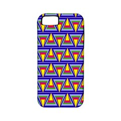 Seamless Prismatic Pythagorean Pattern Apple Iphone 5 Classic Hardshell Case (pc+silicone)