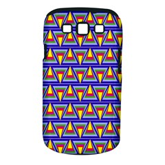 Seamless Prismatic Pythagorean Pattern Samsung Galaxy S III Classic Hardshell Case (PC+Silicone)