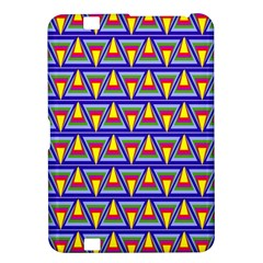 Seamless Prismatic Pythagorean Pattern Kindle Fire Hd 8 9