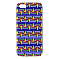 Seamless Prismatic Pythagorean Pattern Apple iPhone 5 Premium Hardshell Case