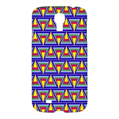 Seamless Prismatic Pythagorean Pattern Samsung Galaxy S4 I9500/I9505 Hardshell Case