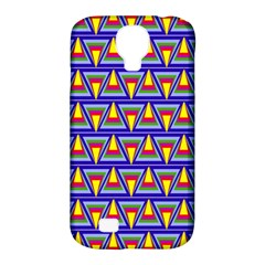 Seamless Prismatic Pythagorean Pattern Samsung Galaxy S4 Classic Hardshell Case (pc+silicone)