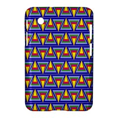 Seamless Prismatic Pythagorean Pattern Samsung Galaxy Tab 2 (7 ) P3100 Hardshell Case