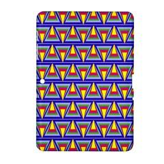 Seamless Prismatic Pythagorean Pattern Samsung Galaxy Tab 2 (10.1 ) P5100 Hardshell Case