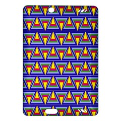 Seamless Prismatic Pythagorean Pattern Amazon Kindle Fire Hd (2013) Hardshell Case
