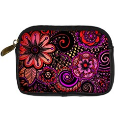 Sunset Floral Digital Camera Cases