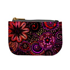 Sunset Floral Mini Coin Purses