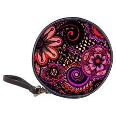 Sunset Floral Classic 20 Cd Wallets