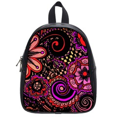 Sunset Floral School Bags (small)