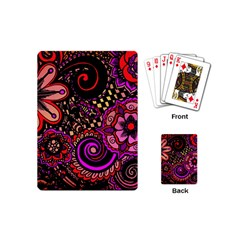 Sunset Floral Playing Cards (mini)