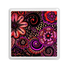 Sunset Floral Memory Card Reader (square)