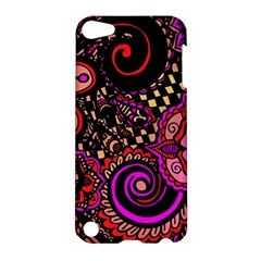 Sunset Floral Apple Ipod Touch 5 Hardshell Case