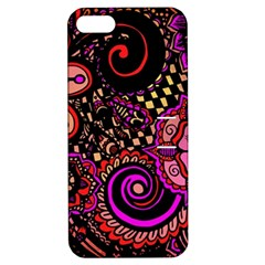 Sunset Floral Apple Iphone 5 Hardshell Case With Stand