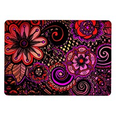 Sunset Floral Samsung Galaxy Tab 10.1  P7500 Flip Case