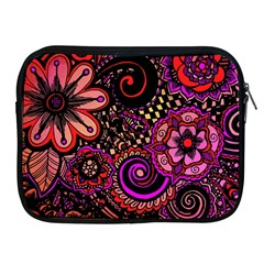 Sunset Floral Apple Ipad 2/3/4 Zipper Cases