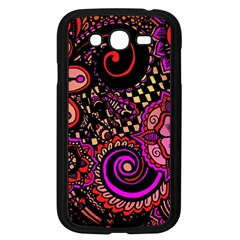 Sunset Floral Samsung Galaxy Grand Duos I9082 Case (black)