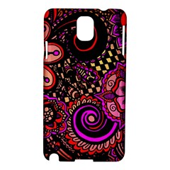 Sunset Floral Samsung Galaxy Note 3 N9005 Hardshell Case
