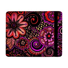 Sunset Floral Samsung Galaxy Tab Pro 8 4  Flip Case
