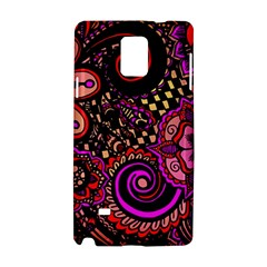 Sunset Floral Samsung Galaxy Note 4 Hardshell Case