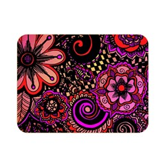 Sunset Floral Double Sided Flano Blanket (Mini)
