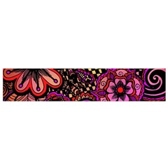 Sunset Floral Flano Scarf (Small)