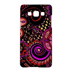 Sunset Floral Samsung Galaxy A5 Hardshell Case