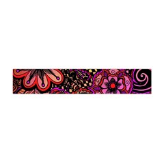 Sunset Floral Flano Scarf (Mini)