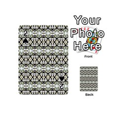 Abstract Camouflage Playing Cards 54 (Mini)