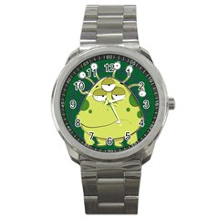 The Most Ugly Alien Ever Sport Metal Watch
