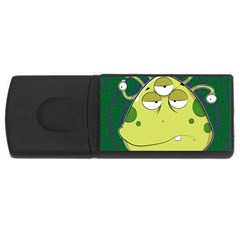 The Most Ugly Alien Ever Usb Flash Drive Rectangular (4 Gb)