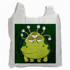 The Most Ugly Alien Ever Recycle Bag (one Side)