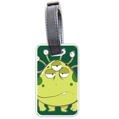 The Most Ugly Alien Ever Luggage Tags (one Side)