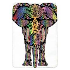 Prismatic Floral Pattern Elephant Flap Covers (l)