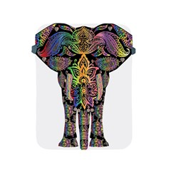 Prismatic Floral Pattern Elephant Apple Ipad 2/3/4 Protective Soft Cases