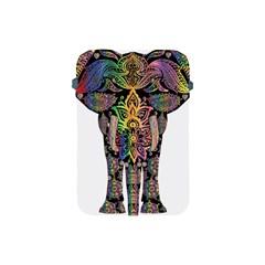Prismatic Floral Pattern Elephant Apple Ipad Mini Protective Soft Cases
