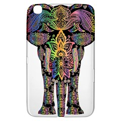 Prismatic Floral Pattern Elephant Samsung Galaxy Tab 3 (8 ) T3100 Hardshell Case