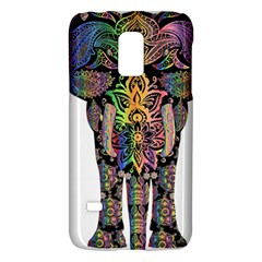 Prismatic Floral Pattern Elephant Galaxy S5 Mini