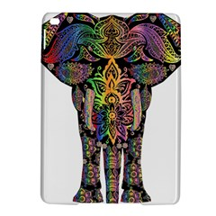 Prismatic Floral Pattern Elephant Ipad Air 2 Hardshell Cases