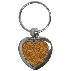 Giraffe Remixed Key Chains (heart)