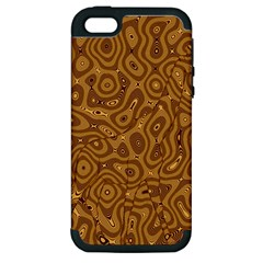 Giraffe Remixed Apple Iphone 5 Hardshell Case (pc+silicone)
