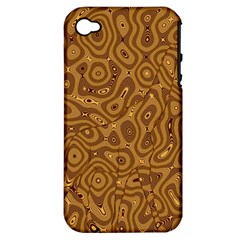 Giraffe Remixed Apple Iphone 4/4s Hardshell Case (pc+silicone)