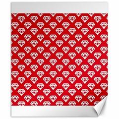 Diamond Pattern Canvas 8  X 10