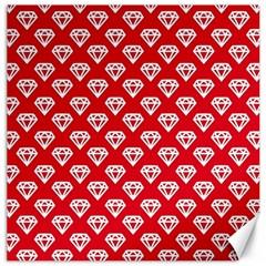 Diamond Pattern Canvas 12  X 12