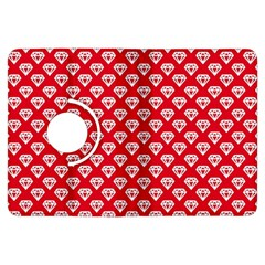 Diamond Pattern Kindle Fire Hdx Flip 360 Case