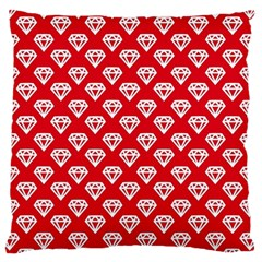 Diamond Pattern Standard Flano Cushion Case (two Sides)